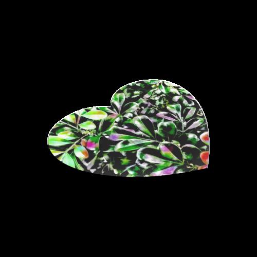 Foliage-6 Heart-shaped Mousepad