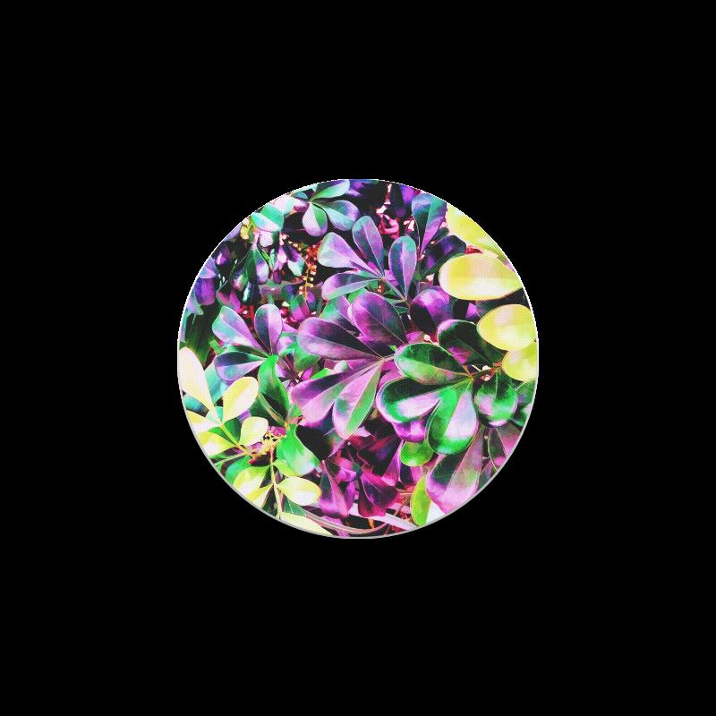 Foliage-3 Round Coaster