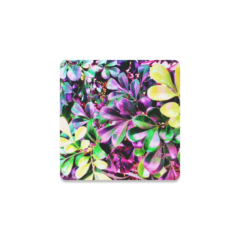 Foliage-3 Square Coaster