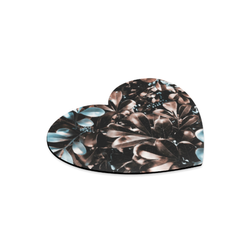 Foliage-5 Heart-shaped Mousepad