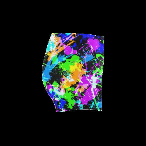 PAINT SPLASH Briseis Skinny Shorts (Model L04)