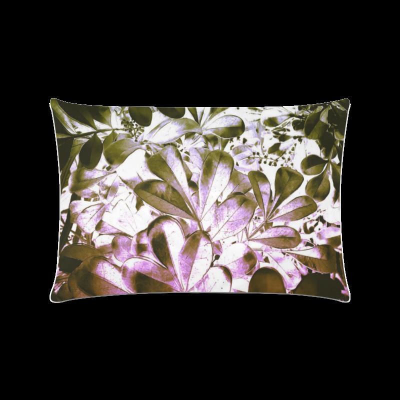 "Foliage #4 - Jera Nour Custom Zippered Pillow Case 16""x24""(Twin Sides)"