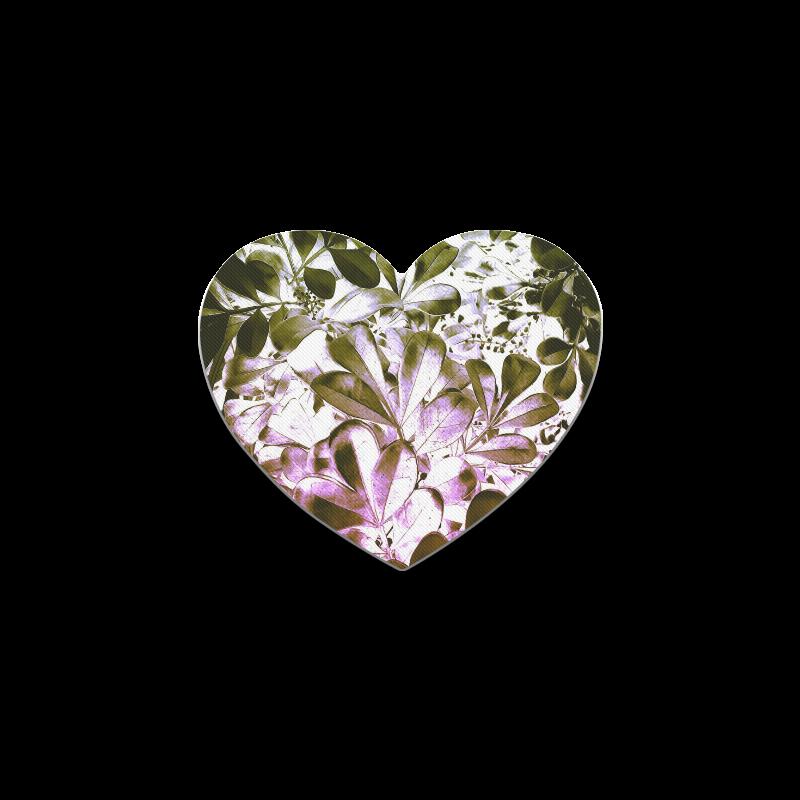 Foliage #4 - Jera Nour Heart Coaster