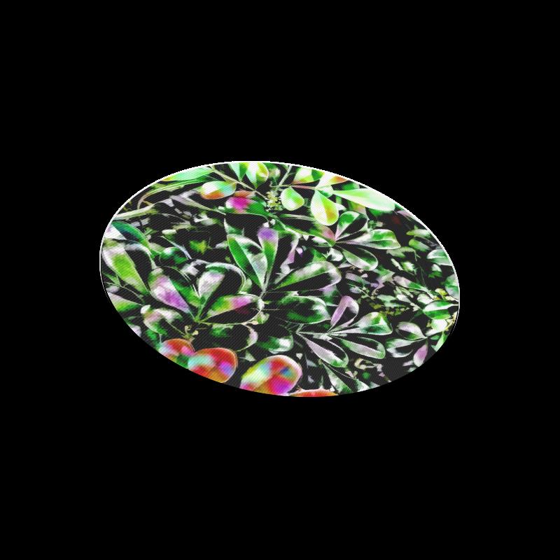 Foliage-6 Round Mousepad