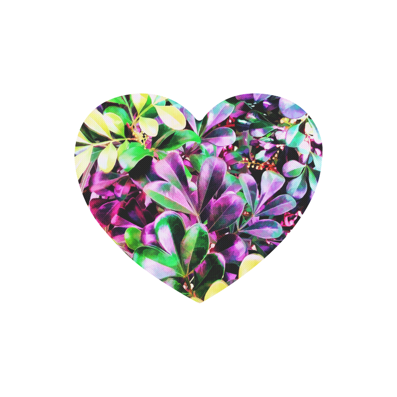 Foliage-3 Heart-shaped Mousepad