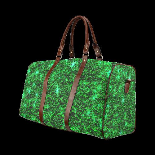 Sparkling Green - Jera Nour | Waterproof Travel Bag/Large (Model 1639)
