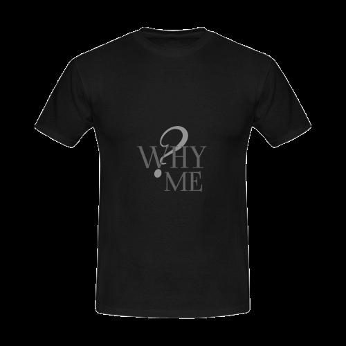 Whyme? Black -Jera Nour | Men's Slim Fit T-shirt (Model T13)