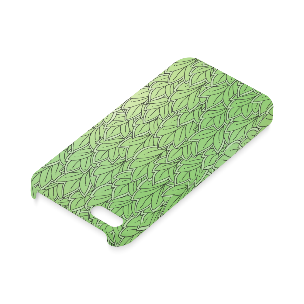 Mandy Green - Leaves Pattern2 Hard Case for iPhone SE