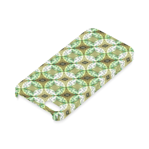 Mandy Green - light dark bubbles Hard Case for iPhone SE