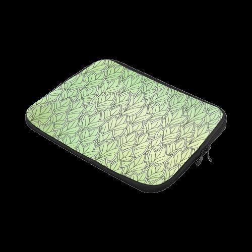 Mandy Green - Leaves Pattern Laptop Sleeve 11''