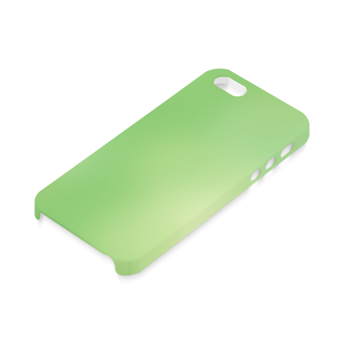 Mandy Green - green abstract Hard Case for iPhone SE