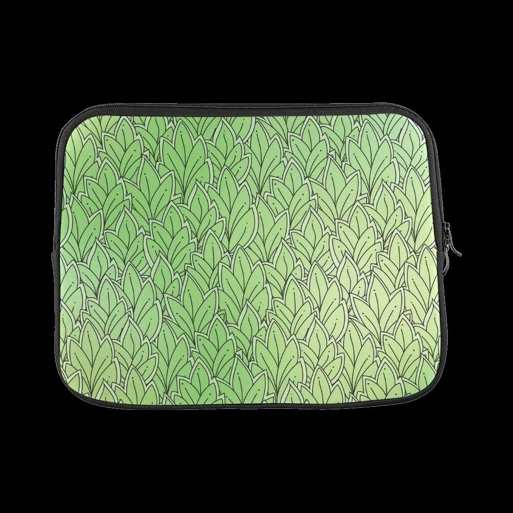 Mandy Green - Leaves Pattern2 Laptop Sleeve 11''