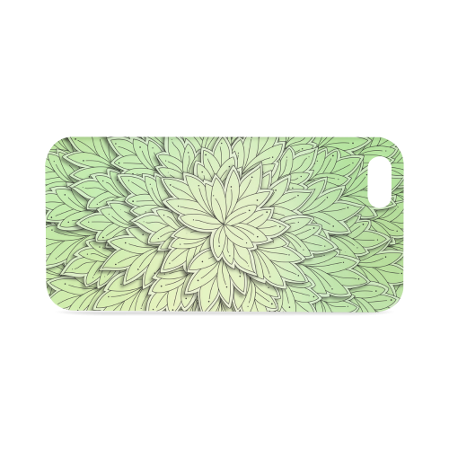 Mandy Green floating Leaves Hard Case for iPhone SE