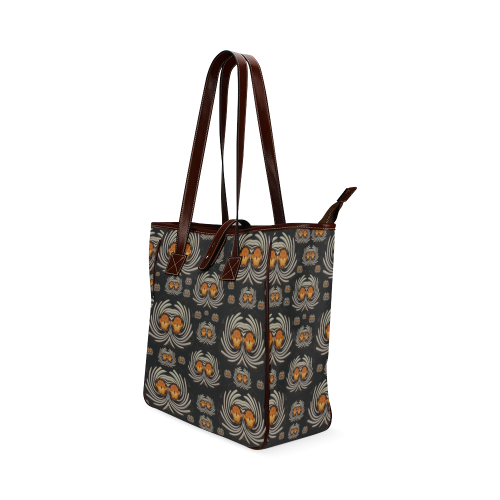 Decorative seeds and orchids Classic Tote Bag (Model 1644)