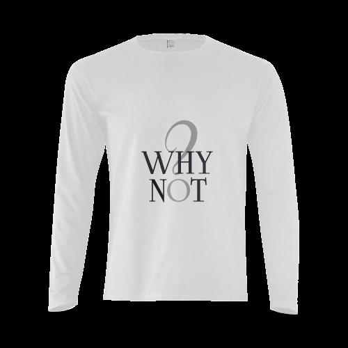 Whynot? Jera Nour | Sunny Men's T-shirt (long-sleeve) (Model T08)