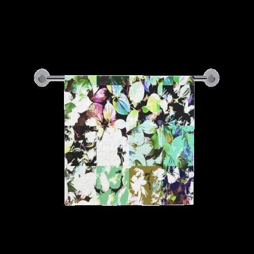 "Foliage Patchwork #2 - Jera Nour Bath Towel 30""x56"""
