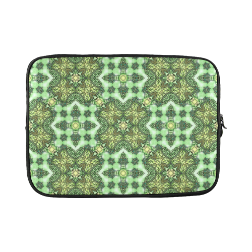 Mandy Green - Forest Garden pattern 2 Custom Laptop Sleeve 15''