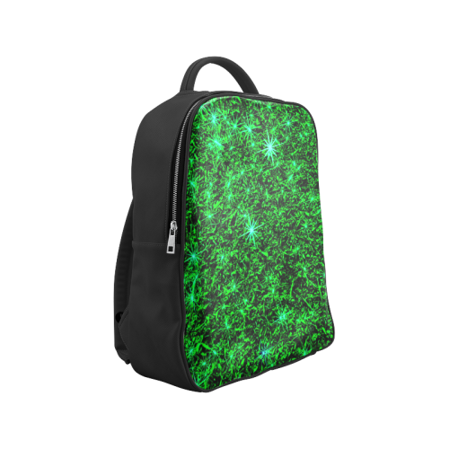 Sparkling Green - Black - Jera Nour | Popular Backpack (Model 1622)