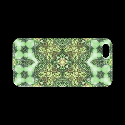 Mandy Green - Forest Garden pattern Hard Case for iPhone SE