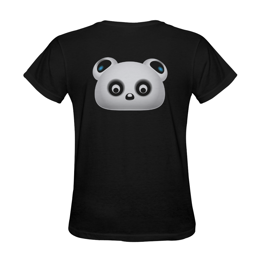 Panda Bear Sunny Women's T-shirt (Model T05)