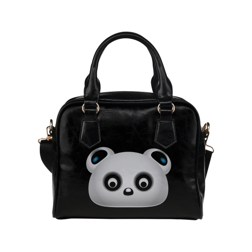 Panda Bear Shoulder Handbag (Model 1634)
