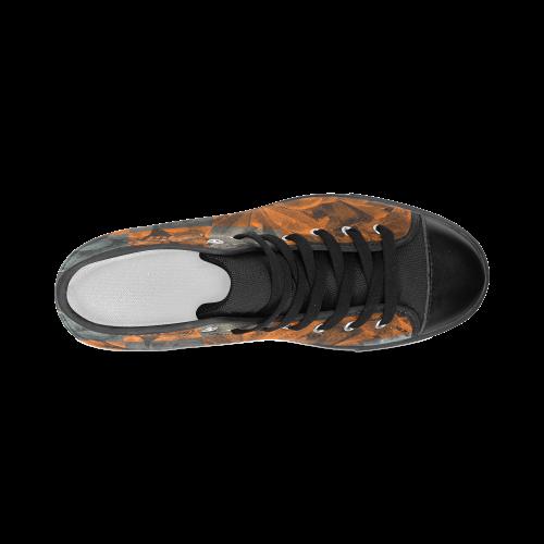 Foliage Patchwork #9 - Jera Nour Women's Classic High Top Canvas Shoes (Model 017)