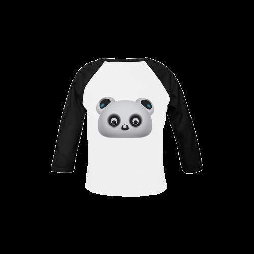 Panda Bear Baby Organic Long Sleeve Shirt (Model T31)