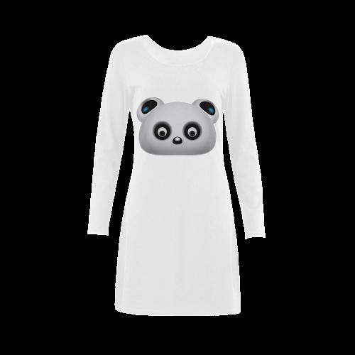 Panda Bear Demeter Long Sleeve Nightdress (Model D03)