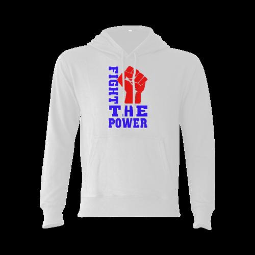FIGHT THE POWER Gildan Hoodie Sweatshirt (Model H03)