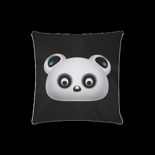 "Panda Bear Custom Zippered Pillow Case 16""x16""(Twin Sides)"