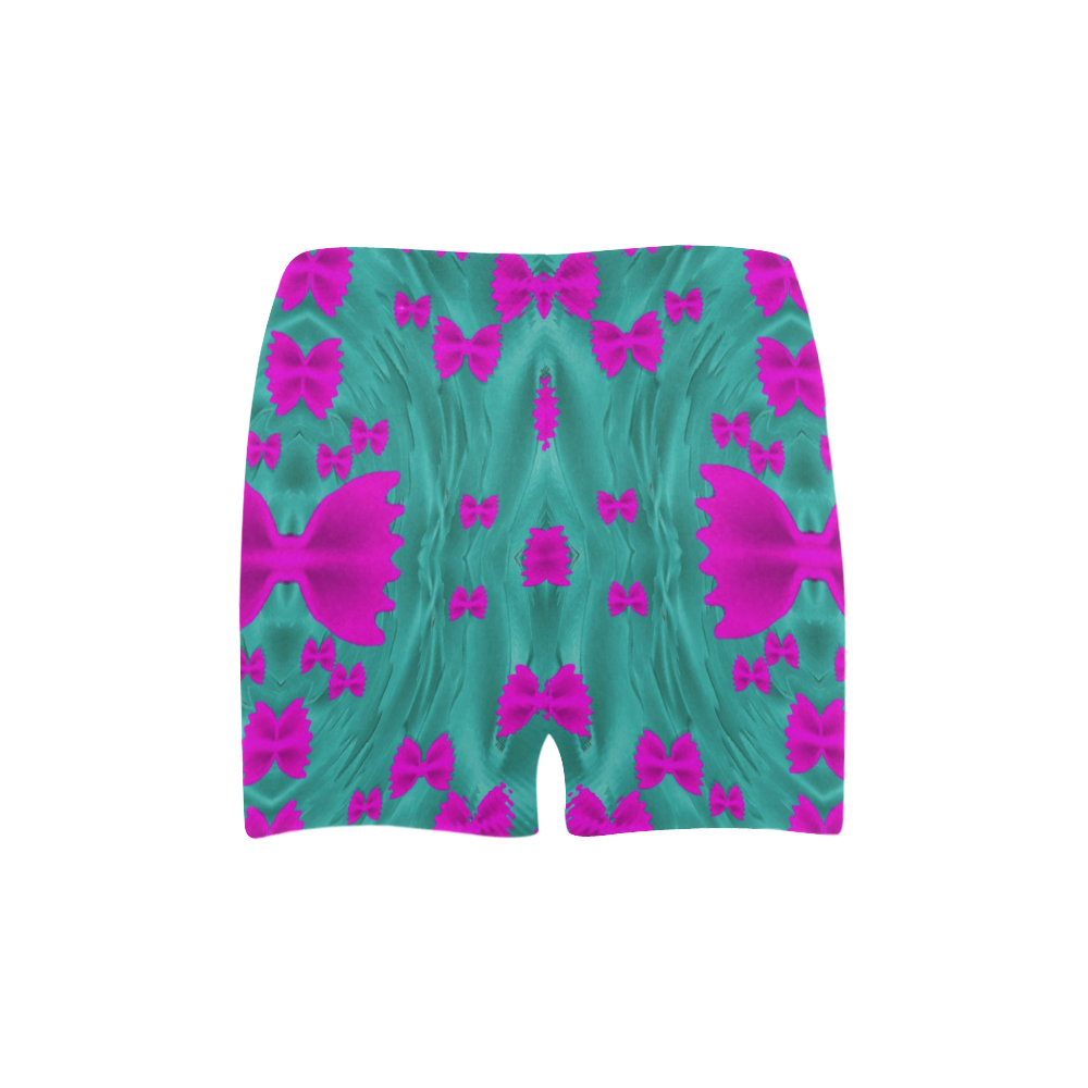 World Wide Flying Butterflies Briseis Skinny Shorts (Model L04)