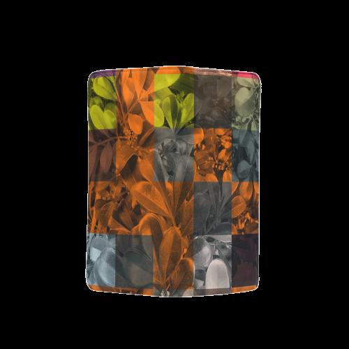 Foliage Patchwork #9 - Jera Nour Men's Clutch Purse (Model 1638)