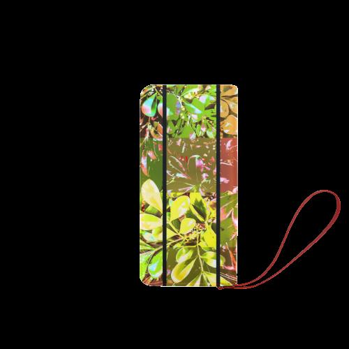 Foliage Patchwork #5 - Jera Nour Women's Clutch Wallet (Model 1637)