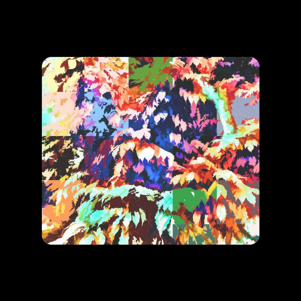 Foliage Patchwork #7 - Jera Nour Men's Clutch Purse (Model 1638)
