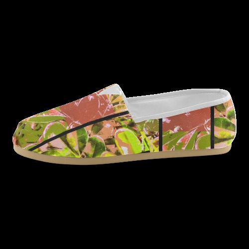Foliage Patchwork #5 - Jera Nour Unisex Casual Shoes (Model 004)