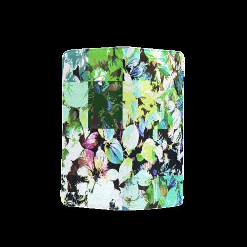 Foliage Patchwork #2 - Jera Nour Men's Clutch Purse (Model 1638)