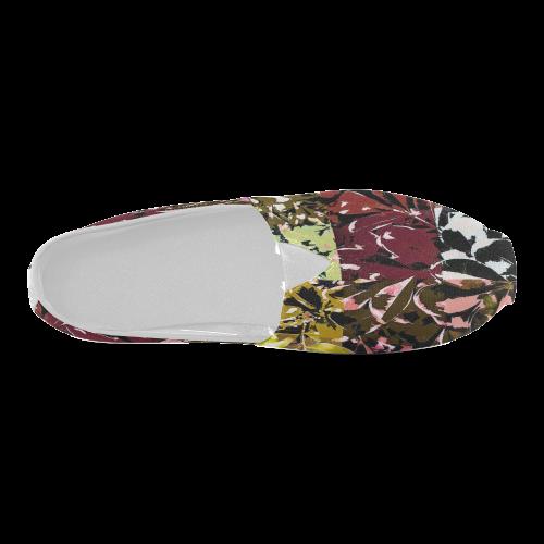 Foliage Patchwork #6 - Jera Nour Unisex Casual Shoes (Model 004)