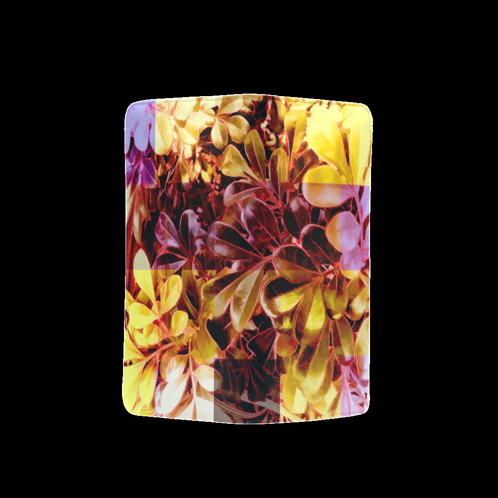 Foliage Patchwork #11 - Jera Nour Men's Clutch Purse (Model 1638)