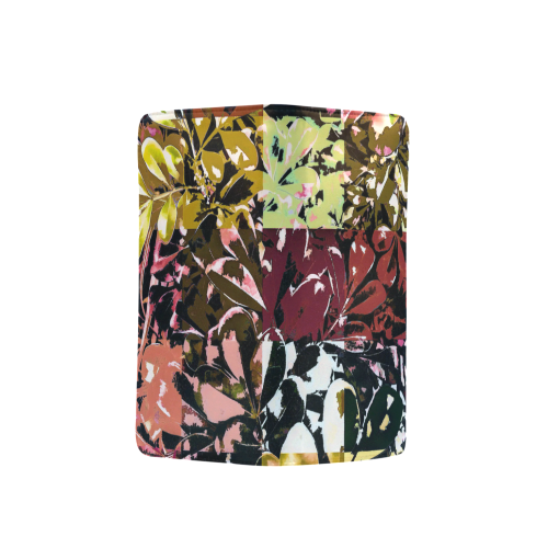 Foliage Patchwork #6 - Jera Nour Men's Clutch Purse (Model 1638)