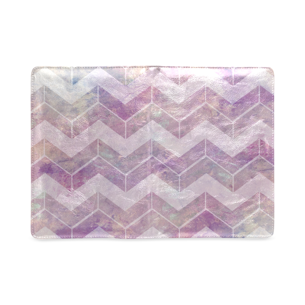 Chevron with watercolors Custom NoteBook A5