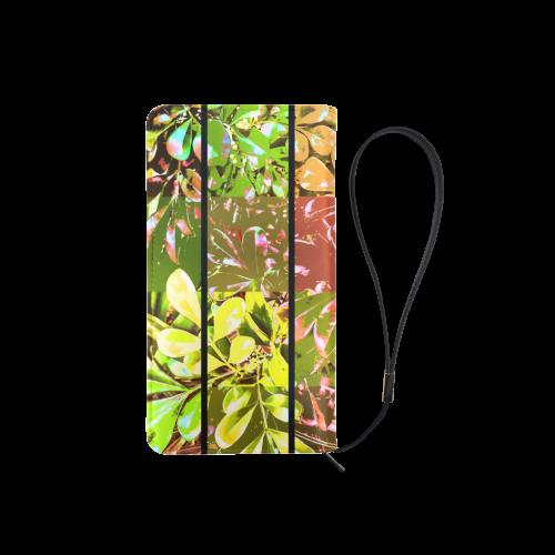 Foliage Patchwork #5 - Jera Nour Men's Clutch Purse (Model 1638)