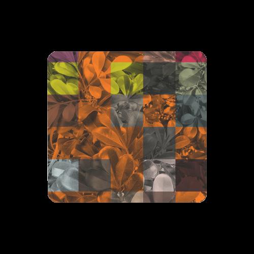 Foliage Patchwork #9 - Jera Nour Women's Clutch Wallet (Model 1637)
