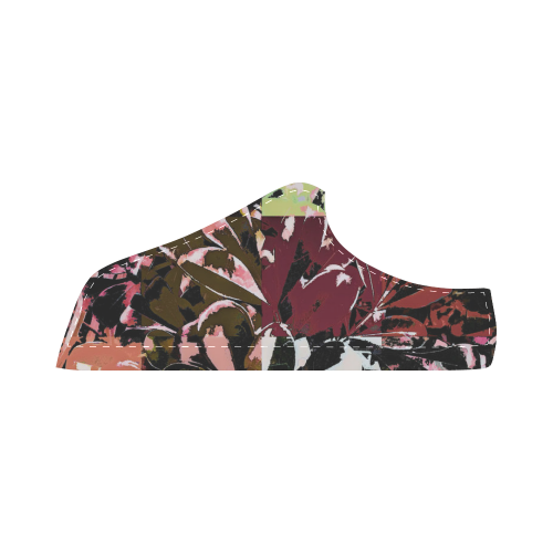 Foliage Patchwork #6 - Jera Nour Women's Chukka Canvas Shoes (Model 003)