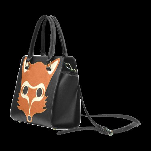 Fox Rivet Shoulder Handbag (Model 1645)