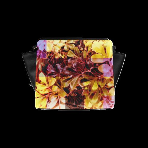 Foliage Patchwork #11 - Jera Nour Satchel Bag (Model 1635)