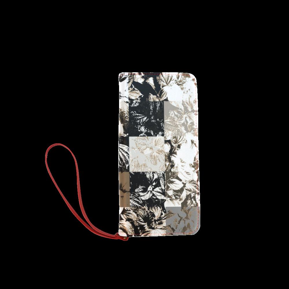 Foliage Patchwork #8 - Jera Nour Women's Clutch Wallet (Model 1637)