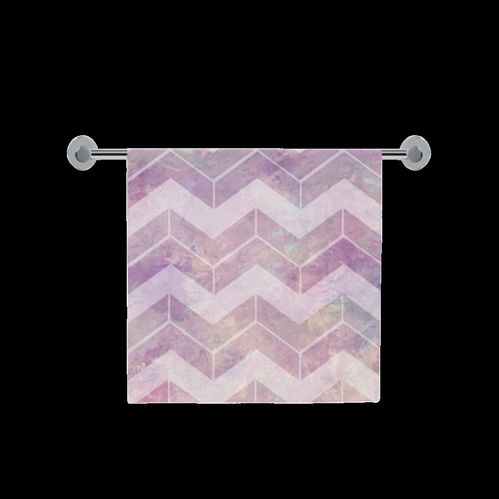 "Chevron with watercolors Bath Towel 30""x56"""