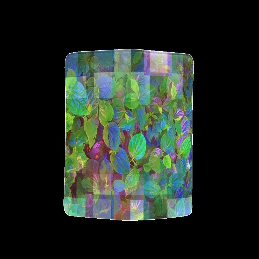 Foliage Patchwork #10 - Jera Nour Men's Clutch Purse (Model 1638)