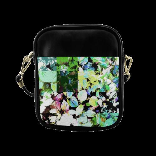 Foliage Patchwork #2 - Jera Nour Sling Bag (Model 1627)