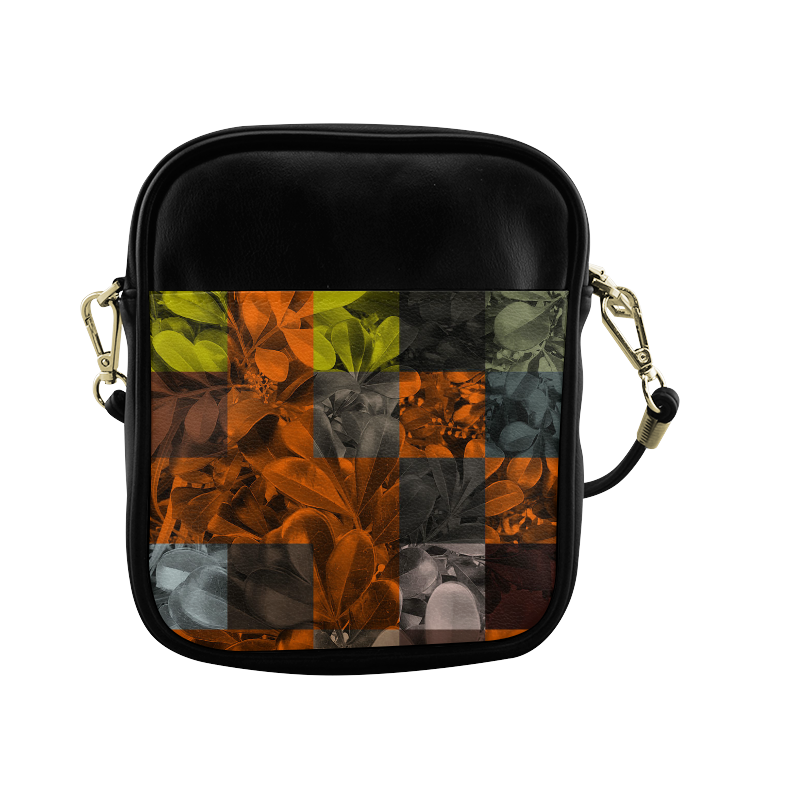 Foliage Patchwork #9 - Jera Nour Sling Bag (Model 1627)